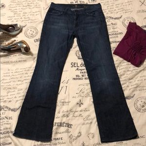 7 for all Mankind size 28 high waist bootcut jeans